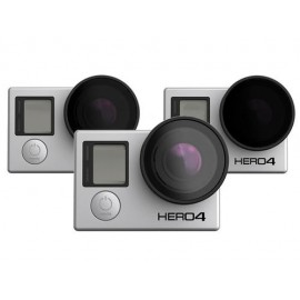 3-Pack Filtros Naked GoPro HERO 3, 3+ y 4
