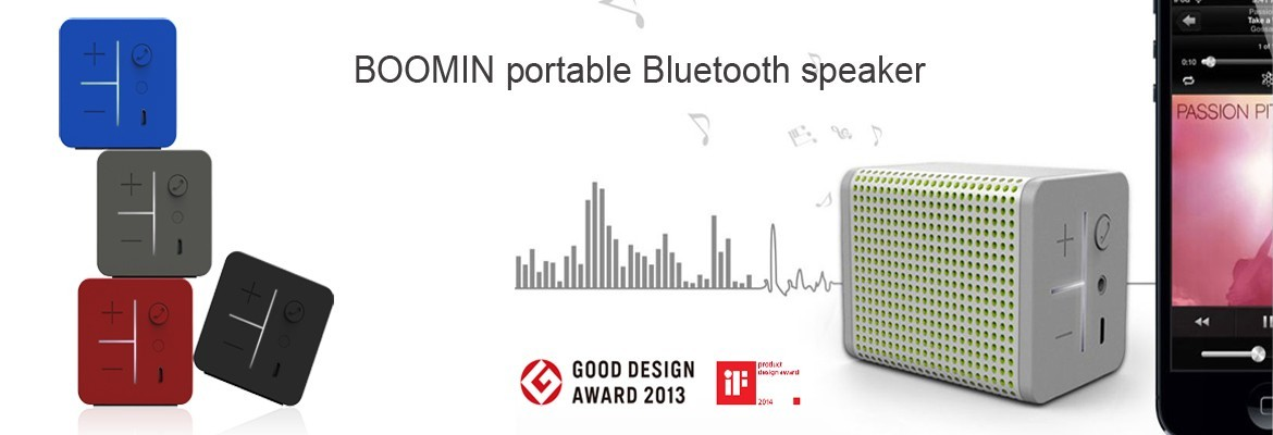 Boomin Portable Bluetooth Speaker